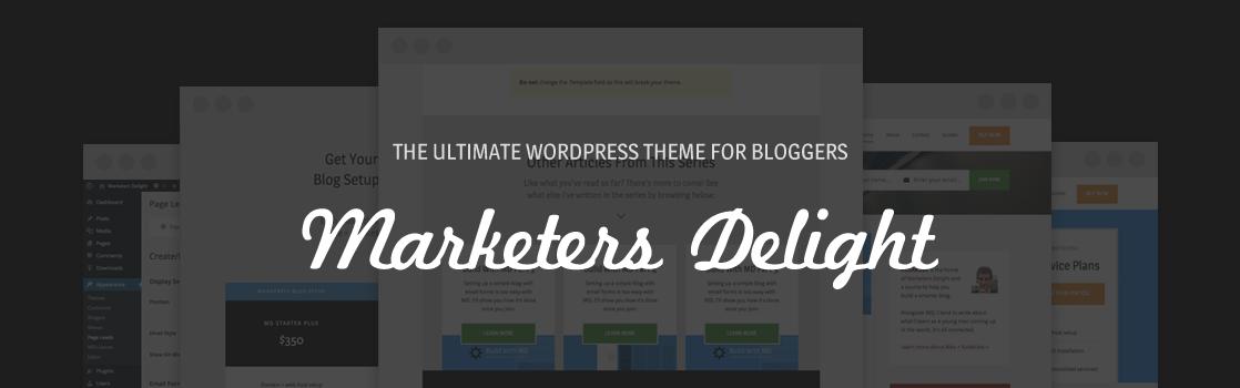 Marketers Delight for WordPress